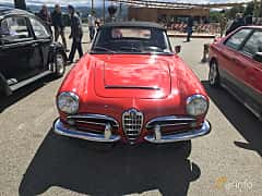 Front  of Alfa Romeo Giulia 1600 Spider 1.6 Manual, 92ps, 1964