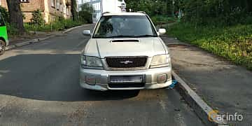 Front  of Subaru Forester STI 2.0 4WD Manual, 250ps, 2001