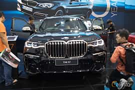 Front  of BMW X7 M50d  Steptronic, 400ps, 2019 at Bangkok Motor Show 2019