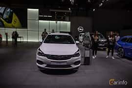 Fram av Opel Astra Sport Tourer 1.5 D Automatic, 122ps, 2020 på IAA 2019