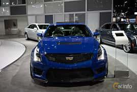 Front  of Cadillac ATS-V Coupé 3.6 V6 470ps, 2019 at LA Motor Show 2018