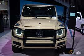 Fram av Mercedes-Benz G 500  9G-Tronic, 421ps, 2019 på LA Motor Show 2018