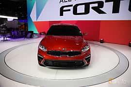 Fram av Kia Forte 2.0 i-CVT, 149ps, 2019 på North American International Auto Show 2018