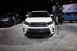 Fram av Toyota Highlander 3.5 V6 Hybrid AWD ECVT, 310ps, 2018 på North American International Auto Show 2018