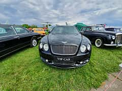 Front  of Bentley Continental Flying Spur 6.0 W12 560ps, 2007 at Old Car Land no.1 2019
