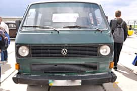 Front  of Volkswagen Transporter Chassi Double Cab 1.6 D Manual, 50ps, 1986 at Old Car Land no.1 2019