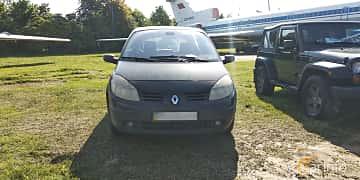 Front  of Renault Scénic 1.6 Manual, 113ps, 2005 at Old Car Land no.1 2019