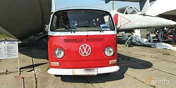 Front  of Volkswagen Transporter 1600 Minibus 1.6 Manual, 48ps, 1970 at Old Car Land no.1 2019