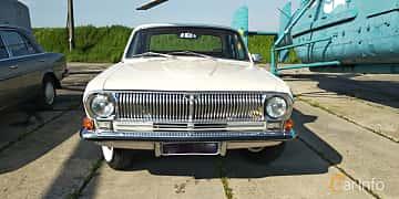 Front  of GAZ 24 Volga 2.4 Manual, 95ps, 1970 at Old Car Land no.1 2019