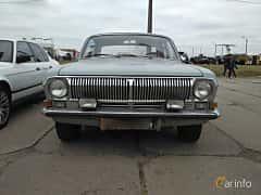 Front  of GAZ GAZ-24 2.4 Manual, 95ps, 1972 at Old Car Land no.2 2017
