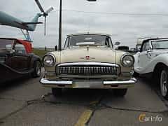 Front  of GAZ GAZ M-21 Volga 2.4 Manual, 76ps, 1962 at Old Car Land no.2 2017