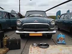 Front  of GAZ GAZ M-21 Volga 2.4 Manual, 76ps, 1964 at Old Car Land no.2 2017