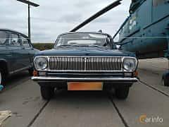 Front  of GAZ GAZ-24 2.4 Manual, 95ps, 1975 at Old Car Land no.2 2017