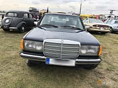 Front  of Mercedes-Benz 240 D  72ps, 1984 at Old Car Land no.2 2019