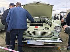 Front  of GAZ 21 1969 at Old Car Land no.2 2019