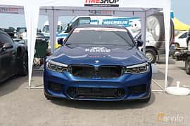 Front  of BMW 5 Series Sedan 2017 at Proudrs Drag racing Poltava 2019