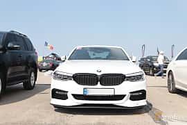 Front  of AC Schnitzer 540i xDrive Sedan  Steptronic, 400ps, 2017 at Proudrs Drag racing Poltava 2019