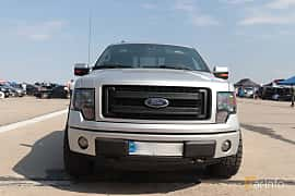 Front  of Ford F-150 SuperCab 5.0 V8 Ti-VCT FFV Automatic, 364ps, 2014 at Proudrs Drag racing Poltava 2019