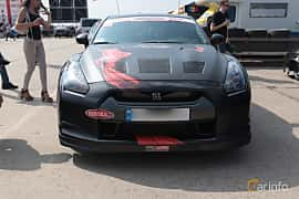 Front  of Nissan GT-R 3.8 V6 4x4 DCT, 485ps, 2010 at Proudrs Drag racing Poltava 2019