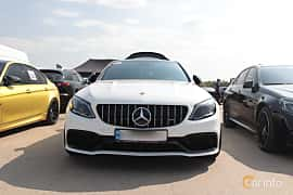 Front  of Mercedes-Benz AMG C 63  , 476ps, 2019 at Proudrs Drag racing Poltava 2019