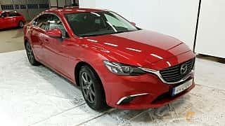 Front/Side  of Mazda 6 Sedan 2.2 SKYACTIV-D Automatic, 175ps, 2015