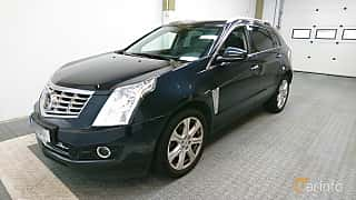 Front/Side  of Cadillac SRX 3.6 V6 AWD Automatic, 311ps, 2014