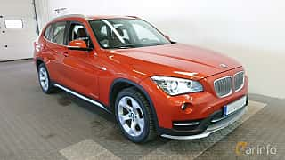Front/Side  of BMW X1 xDrive20d 2.0 xDrive Steptronic, 184ps, 2015