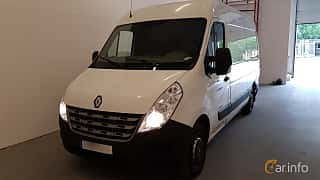 Front/Side  of Renault Master 2.3 dCi Manual, 125ps, 2012