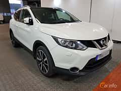 Front/Side  of Nissan Qashqai 1.6 dCi 4x4 Manual, 130ps, 2016