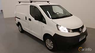 Front/Side  of Nissan NV200 Van 1.5 dCi Manual, 90ps, 2014
