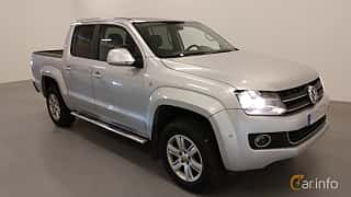 Front/Side  of Volkswagen Amarok Dual Cab 2.0 BiTDI 4Motion Manual, 163ps, 2012