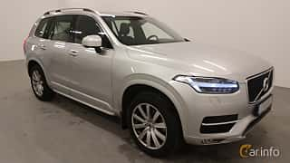 Front/Side  of Volvo XC90 D4 Geartronic, 190ps, 2018
