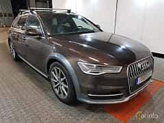 Front/Side  of Audi A6 allroad quattro 3.0 TDI V6 clean diesel quattro S Tronic, 218ps, 2017