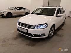 Fram/Sida av Volkswagen Passat Variant 2.0 TDI BlueMotion DSG Sequential, 177ps, 2014