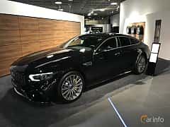 Fram/Sida av Mercedes-Benz AMG GT 63 S 4-door Coupé 4MATIC+  , 639ps, 2019