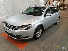 Fram/Sida av Volkswagen Passat Variant 1.4 TSI Multifuel DSG Sequential, 160ps, 2012