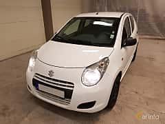 Front/Side  of Suzuki Alto 1.0 VVT Manual, 68ps, 2011