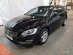 Front/Side  of Volvo V60 D4 Manual, 190ps, 2016