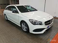 Front/Side  of Mercedes-Benz CLA 200 d Shooting Brake  7G-DCT, 136ps, 2017
