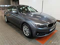 Front/Side  of BMW 320d xDrive Gran Turismo  Manual, 190ps, 2017