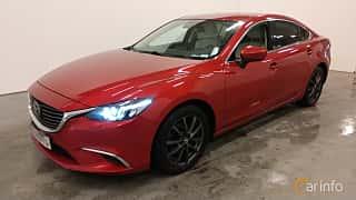 Fram/Sida av Mazda 6 Sedan 2.5 SKYACTIV-G Automatic, 192ps, 2017