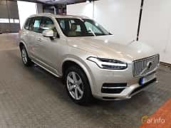 Front/Side of Volvo XC90 T8 AWD Geartronic, 407ps, 2016