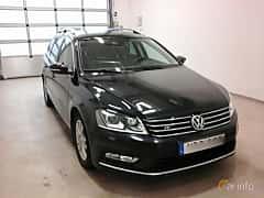 Fram/Sida av Volkswagen Passat Variant 2.0 TDI BlueMotion 4Motion DSG Sequential, 170ps, 2013