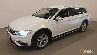 Front/Side  of Volkswagen Passat Alltrack 2.0 TSI 4Motion DSG Sequential, 220ps, 2018
