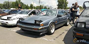 Front/Side  of Nissan 200SX Hatchback 2.0 102ps, 1989 at Car gathering JDM  2019