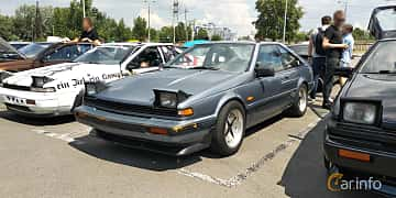 Fram/Sida av Nissan 200SX Hatchback 2.0 102ps, 1989 på Car gathering JDM  2019