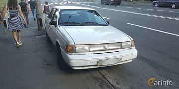 Front/Side  of Mercury Topaz 2.3 98ps, 1994