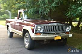 Front/Side  of Jeep J10 5.9 V8 4WD Automatic, 177ps, 1987