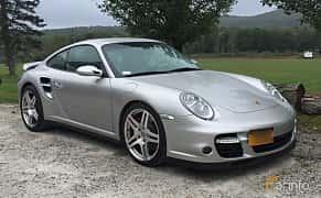 Fram/Sida av Porsche 911 Turbo 3.6 H6 4 480ps, 2007