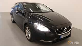 Front/Side  of Volvo V40 1.6 D2 Manual, 115ps, 2014